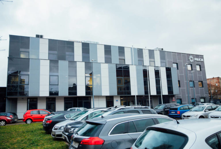 design and build police station lodz